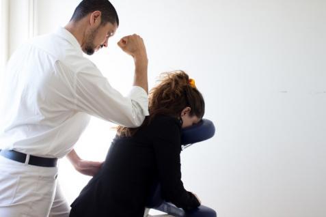 Massage au bureau, Villefranche-sur-Saône